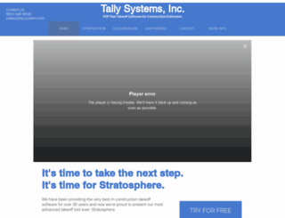 tallysystem.com screenshot