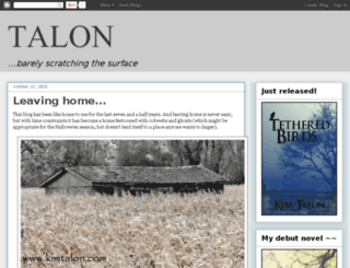 talonted.blogspot.com screenshot