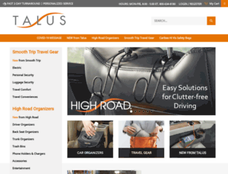 talusproducts.com screenshot