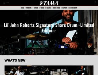 tama.com screenshot