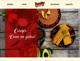 tamalessalinas.com screenshot