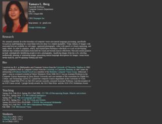 tamaraberg.com screenshot