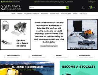 tamarackoutdoors.co.uk screenshot
