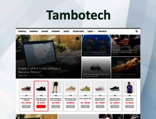 tambotech.com.br screenshot