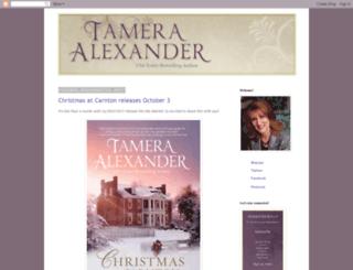 tameraalexander.blogspot.com screenshot