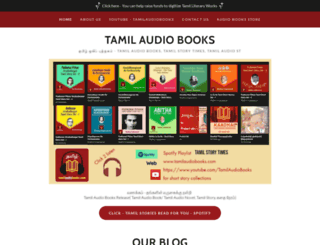 tamilaudiobooks.com screenshot