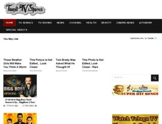 tamiltvshows.net screenshot