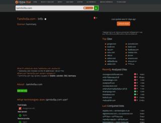 tamilvilla.com.hypestat.com screenshot