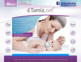 tamizort.com.mx screenshot