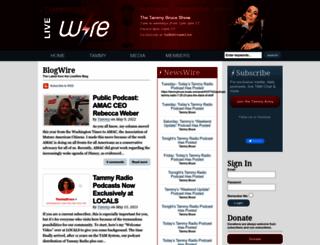 tammybruce.com screenshot