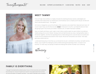 tammythompsonfit.com screenshot