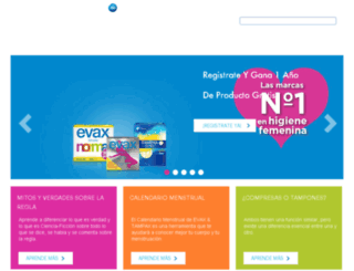 tampax.es screenshot