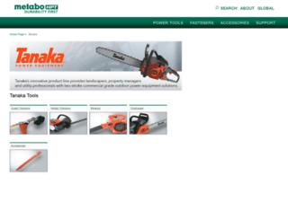 tanaka-usa.com screenshot