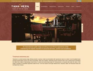 tanamera.co.za screenshot