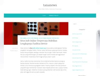 tananews.com screenshot