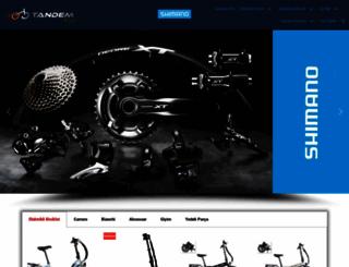 tandembisiklet.com screenshot
