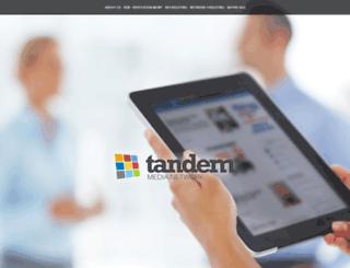 tandemnetwork.com screenshot
