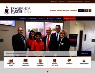 tangischools.org screenshot