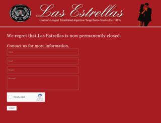 tangoinlondon.com screenshot