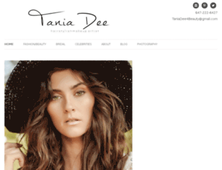 taniadeebeauty.com screenshot