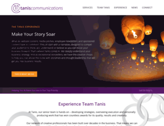 taniscomm.com screenshot