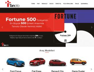 tanoto.com.tr screenshot