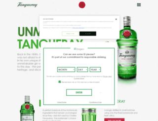 tanqueray.es screenshot