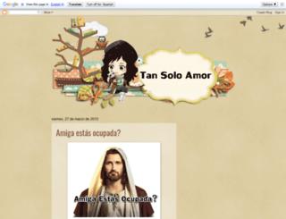 tansoloamorpame.blogspot.com.ar screenshot