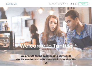 tantelo.com screenshot
