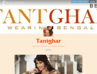 tantghar-saree.tumblr.com screenshot