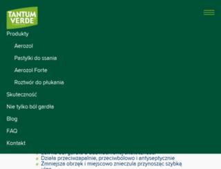 tantumverde.pl screenshot