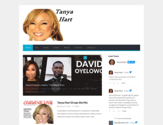 tanya-hart.com screenshot