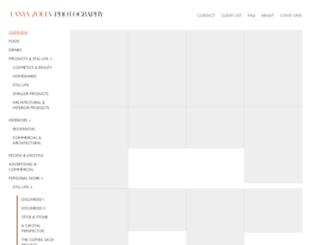 tanyazouev.com screenshot