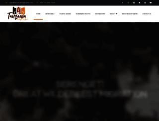 tanzaniabudgetsafari.com screenshot