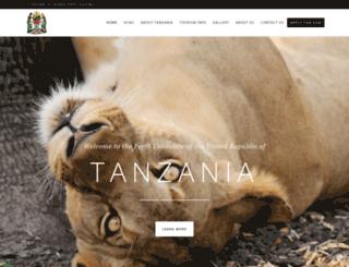 tanzaniaconsul.com screenshot