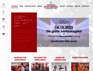 tanzschule-paulerberg.de screenshot