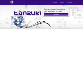 tanzuki.net screenshot