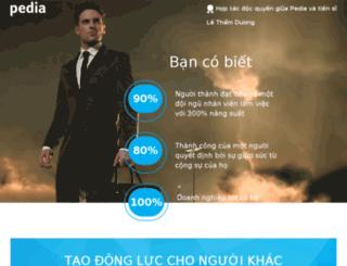 taodongluc3.pedia.vn screenshot