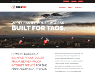 taosnet.com screenshot