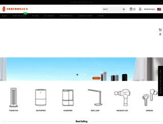 taotronics.com screenshot