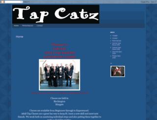 tapcatz-ladytappers.blogspot.ca screenshot