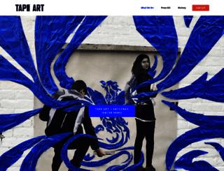 tapeart.com screenshot