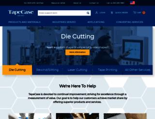 tapecase.com screenshot