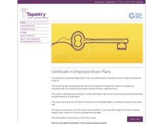 tapestryicsa.com screenshot