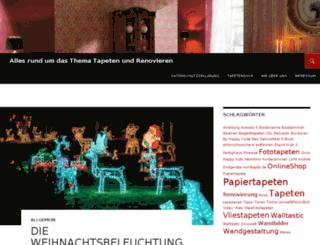 tapeten-blog.com screenshot