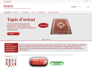 tapis-tapisseries.com screenshot