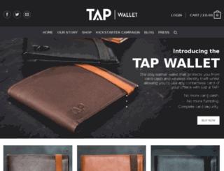 tapwallet.co.uk screenshot