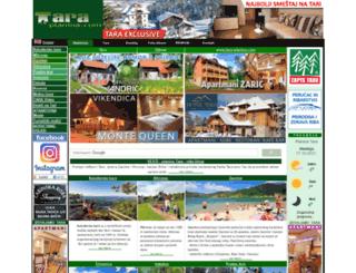 tara-planina.com screenshot