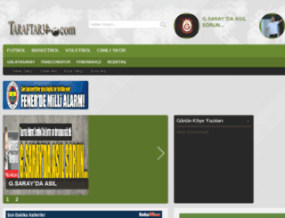 taraftar34.com screenshot
