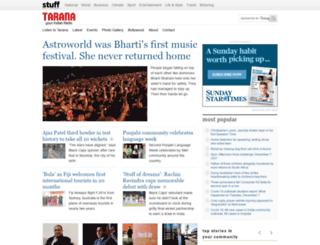 tarana.co.nz screenshot